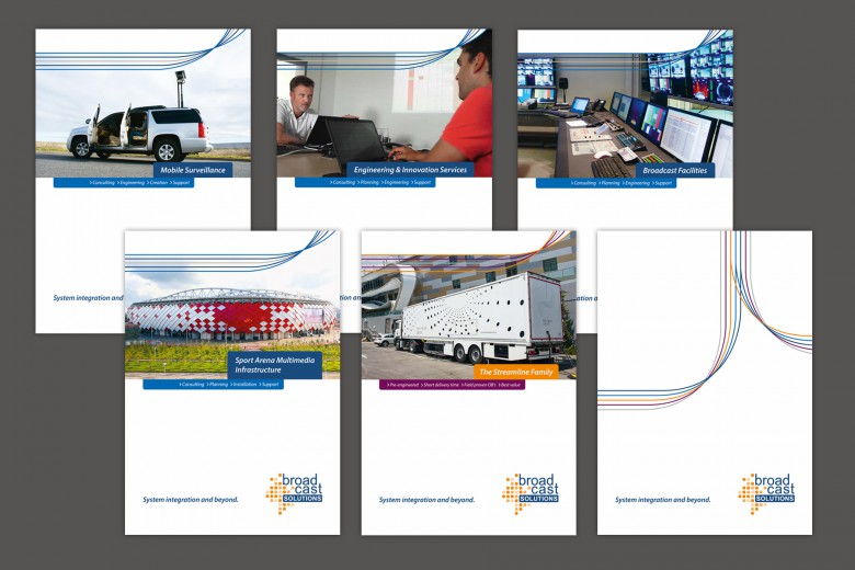 Broadcast Solutions Print-Design