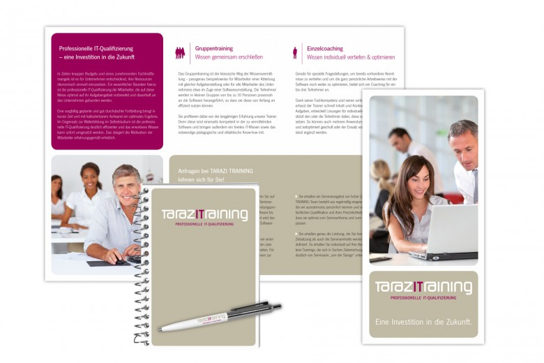 Tarazi Training Corporate Design 2