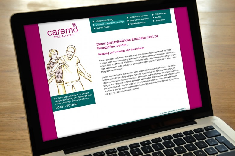 caremo web